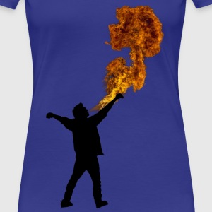 Fire Breathe Womens - Women's Premium T-Shirt