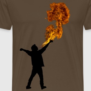 Fire Breathe Mens - Men's Premium T-Shirt