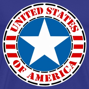 usa united states 02 T-Shirts - Men's Premium T-Shirt