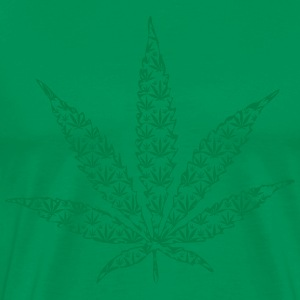 cannabis leaf T-Shirts - Men's Premium T-Shirt