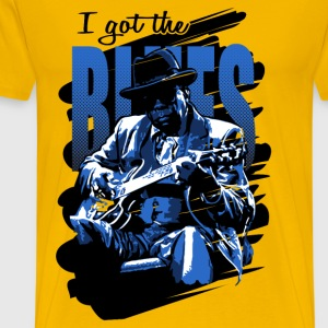 I got the blues - Camiseta premium hombre