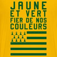 Motif ~ Tee Shirt Jaune et Vert