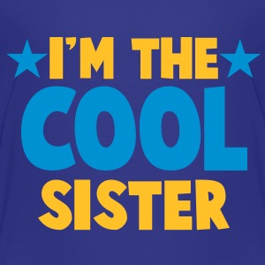 I'm the COOL sister! with stars Shirts - Kids' Premium T-Shirt