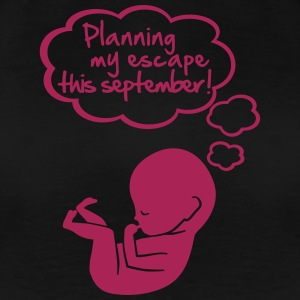 planning my escape this september T-shirts - Premium-T-shirt dam