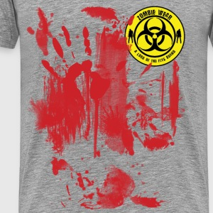 Zombie Wear Bloody  T-Shirts - Men's Premium T-Shirt
