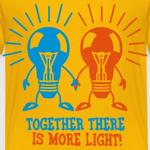 Together there is more light Tee shirts - T-shirt Premium Enfant