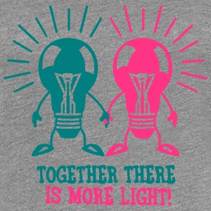 Together there is more light T-Shirts - Women's Premium T-Shirt