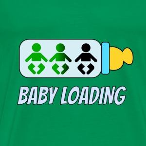 Baby loading Tee shirts - T-shirt Premium Homme