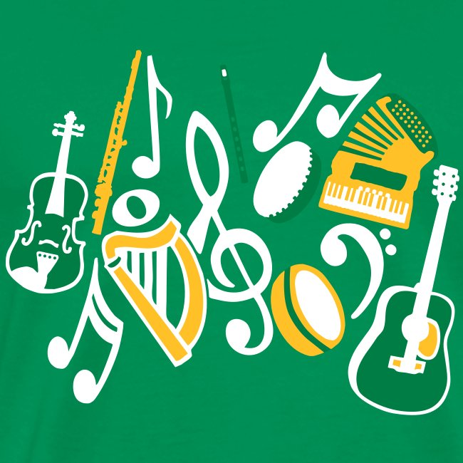 TTT Irish Music Fan