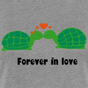 turtles in love 3 Tee shirts - T-shirt Premium Femme