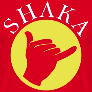 Greeting Shaka  T-Shirts - Men's T-Shirt