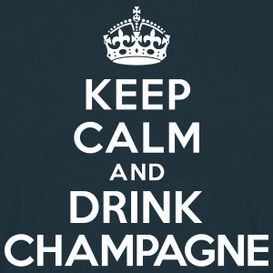 Keep calm and drink Champagne Tee shirts - T-shirt Homme