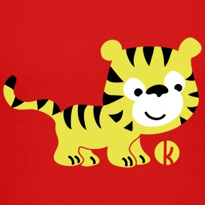 Tiger (oc) Shirts - Teenage Premium T-Shirt