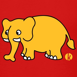 Elefant (mc) T-Shirts - Kinder Premium T-Shirt