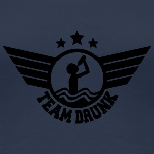 Team Drunk On The Beach T-Shirts - Frauen Premium T-Shirt