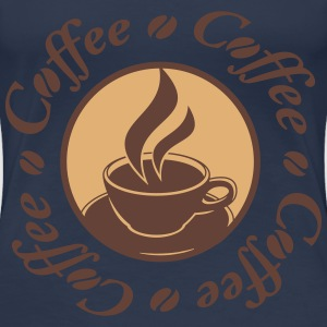 Coffee Logo T-Shirts - Women's Premium T-Shirt