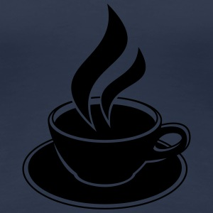Coffee Cup Design T-Shirts - Women's Premium T-Shirt