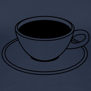 Coffee Cup T-Shirts - Women's Premium T-Shirt