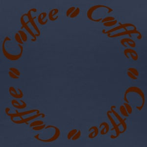 Coffee Circle T-shirts - Dame premium T-shirt