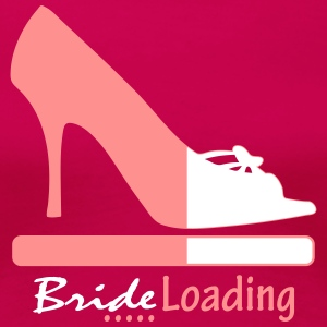 Bride Loading T-Shirts - Frauen Premium T-Shirt