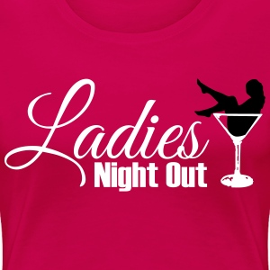 ladies night out T-shirts - Vrouwen Premium T-shirt