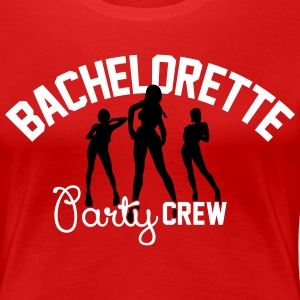 Bachelorette party Crew T-shirts - Vrouwen Premium T-shirt