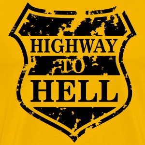 Highway to Hell T-skjorter - Premium T-skjorte for menn