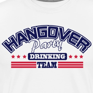 Hangover Party drinking team T-shirts - Mannen Premium T-shirt