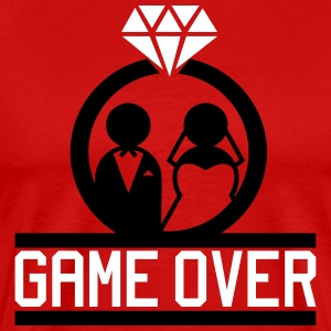 Game Over T-Shirts - Männer Premium T-Shirt