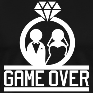 Game Over T-skjorter - Premium T-skjorte for menn
