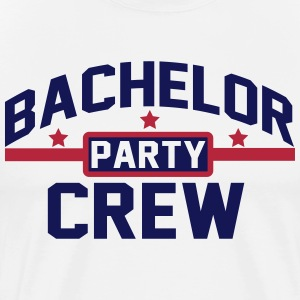Bachelor Party Crew T-Shirts - Männer Premium T-Shirt