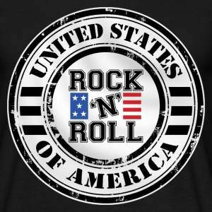Rock'n'Roll design Tee shirts - T-shirt Homme