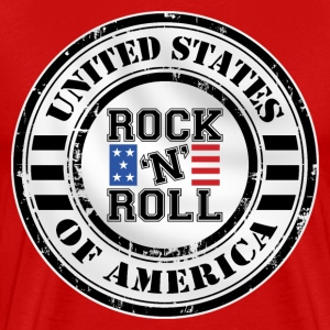 Rock'n'Roll design T-Shirts - Men's Premium T-Shirt