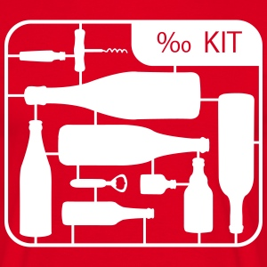 Kit botella Alcohol  Camisetas - Camiseta hombre
