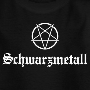 Schwarzmetall No.1 T-Shirts - Teenager T-Shirt