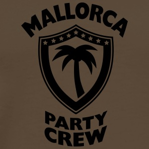 Mallorca Party Crew T-skjorter - Premium T-skjorte for menn