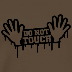 Do Not Touch Graffiti Tee shirts - T-shirt Premium Homme
