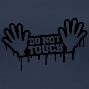 Do Not Touch Graffiti Tee shirts - T-shirt Premium Femme