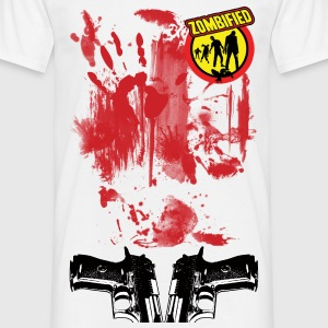 zombiefied bloody Tee shirts - T-shirt Homme