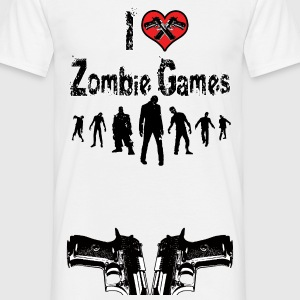 I love Zombie Games Tee shirts - T-shirt Homme