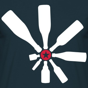 Alcohol spin the bottle  T-Shirts - Men's T-Shirt