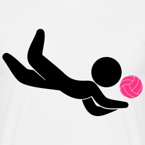 Volleyball (2c)++2013 T-Shirts - Men's T-Shirt