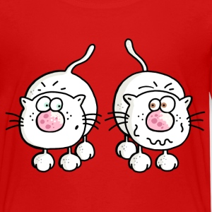 Amusing Cats - Cat - Kitten Shirts - Kids' Premium T-Shirt