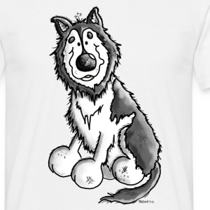 Husky - Malamute - Dog - Dogs T-Shirts - Men's T-Shirt