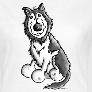 Husky - Malamute - Dog - Dogs T-Shirts - Women's T-Shirt