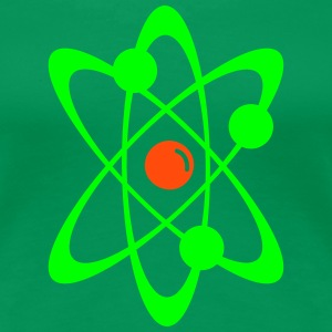Atomic nuclear radioactive nuclear science 2c T-Shirts - Women's Premium T-Shirt