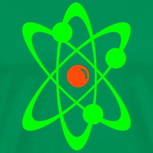 Atomic nuclear radioactive nuclear science 2c T-Shirts - Men's Premium T-Shirt