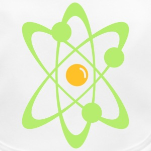 Atomic nuclear radioactive nuclear science 2c Accessories - Baby Organic Bib