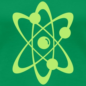 Atomic nuclear radioactive nuclear science 1c T-Shirts - Women's Premium T-Shirt