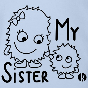 My Sister Shirts - Organic Short-sleeved Baby Bodysuit